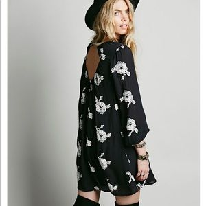 Free People Cotton Embroidered Austin Dress/tunic